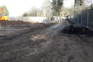 Bateman Groundworks working on an Abel Homes site